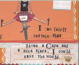 Cape and....