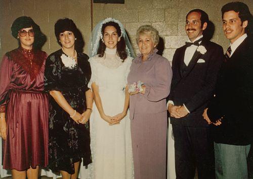 Debbie's wedding